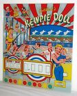 Gottlieb Kewpie Doll Woodrail Pinball Machine Reproduction Backglass - GREAT!