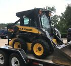 2006 New Holland L170 Skid Steer Loader Cab Auxillary Hydraulics 170 Hours