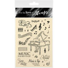 Hunkydory Crafts Hunkydory For The Love Of Stamps A6 Say It With Music