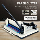 12Heavy Duty Paper Roll Cutter Trimmer Machine Commercial Office Scrap Booking