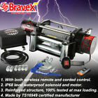 12000LBS 12v Electric Winch for Truck Trailer Jeep 12000LBS Recovery Winch