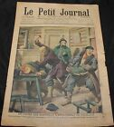 May 10 1908 Le Petit Journal  A Caiman Hunt in the Open Sea on back cover