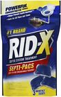 Rid X Septic Tank System Treatment 3 Dose Dual Action Septi Pacs 3 ct