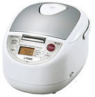 Tiger JBA-T18U-WU 10-Cup (Uncooked) Micom Rice Cooker with Food Steamer