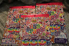 Lisa Frank Stickers Total 1800 Lot of 3 books 600 each Scrapbook FUN NEW