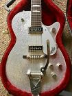 2004 Gretsch 6129T Silver Sparkle Jet 1957 Reissue with Case *MINT*