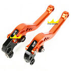 Adjust For KTM 690 SMC 2008 2009 2010 2011 CNC Brake&Clutch Levers Set Orange