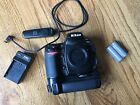 Nikon D700 121MP Digital SLR Camera Body with MB D10 Vertical Power Grip more