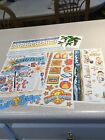 LOT OF 6 SHEETS QUALITY BEACH SCRAPBOOKING STICKERS