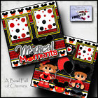 MAGICAL MOMENTS DISNEY 2 premade scrapbooking pages layout printed BY CHERRY