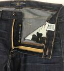 Lucky Brand 367 Vintage Boot Mens Buckle Blue Jeans 34 X 325