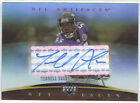 TERRELL SUGGS 2007 UPPER DECK ARTIFACTS NFL FACTS AUTO RAVENS AUTOGRAPH RARE