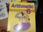 A Beka Arithmetic 6 Math Tests and Speed Drills Teacher Key 3rd Edition