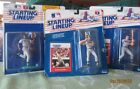 Starting Lineup 3 Figures Roberto Kelly  Mark McGwire  Don Mattingly