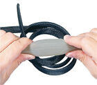 10M Boxes Black/Grey Braided Expandable Sleeving 3mm to 40mm