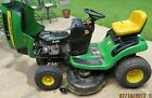 John Deere 125 Automatic 42inch Riding Lawn Mower, 20HP V-Twin Engine
