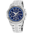 Seiko Core Blue Dial Stainless Steel Men's Watch SSC141