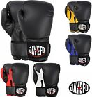 JAYEFO  BEGINNERS LEATHER BOXING MMA MUAY THAI KICK BOXING SPARRING GLOVES MMA
