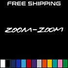 Zoom Zoom Mazdaspeed Mazda Protege Decal Window Sticker Car Truck White