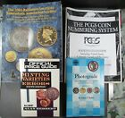 Lot of 4 US Coin Books Minting Varieties & Errors Price Guide Numismatic Auction