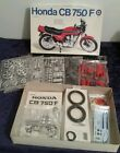 Vintage Entex 1/8 Scale Model Kit - HONDA CB750F CB 750 F    *COMPLETE, UNBUILT*