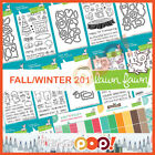 Lawn Fawn Fall 2017 Collection Single Stamp Die Paper Pads Mini Ink SetLAF LF1