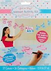 Amscam Reveal Party Girl Or Boy Activity Kit Blue Pink