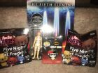 Funko Reaction Fifth Element Leeloo Unpunched Harley Quinn Pin+ FNAF's Gamestop