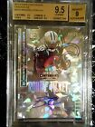 2014 Contenders Brandin Cooks RC Cracked Ice Rookie Ticket On Card Auto 04 22