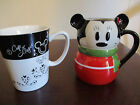 Lot of 2, Disney Mugs, Mickey and 1 Cup of Magic