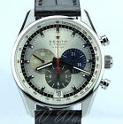 Zenith El Primero Chronograph 03.2040.400/69.C494 Silver NEW Boxes Papers