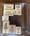 Stampin Up Loads Of Love Set Rubber Stamps Used