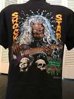 Vtg 94 Tales From The Crypt Shock Star Movie Promo Shirt Sz L/XL Horror TV Metal