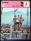EDDY MERCKX Cycling Sportscaster Rencontre Fact Card 52 05