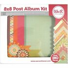 Post Scrapbook Album Kit 8X8 280 Pieces by We R Memory Keepers 30696 2