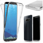 For Samsung Galaxy S8 Plus Shockproof 360 Full Body Case Soft TPU Phone Cover
