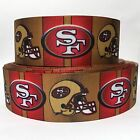 Grosgrain Ribbon 78 1.5 Sf 49ers Sports Football Tm15 - Printed 135 Yds
