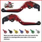 Folding Extendable Adjustable Levers BMW K1200S 2004 - 2008 Red