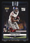 2016 PANINI INSTANT STERLING SHEPARD RC BLACK MASTERPIECE ROOKIE NY GIANTS #1 1