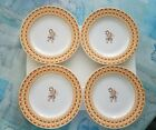 Fitz and Floyd Habitat 1994 Americana Cherub Plates Lot of 4 EXCELL CONDITION