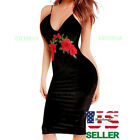 Women Dress Evening Party Cocktail Sleeve Bandage Bodycon Summer Long Casual New