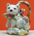 Fitz and Floyd Classic Enchanted Holiday Covered Sugar  & Creamer, Excellent Con