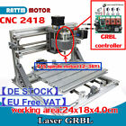 【EU】CNC 3 Axis 2418 GRBL Control DIY Mini Laser Machine Pcb Milling Wood Router
