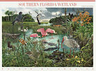 SOUTHERN FLORIDA WETLANDS STAMP SHEET USA 4099 39 CENT NATURE OF AMERICA
