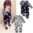 US Stock Toddler Baby Boy Girl Set Tops Bib Pants Jumpsuit Overall Outfits NEW