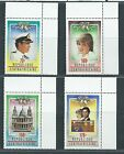 CENTRAL AFR REPUBLIC Diane and Charles Royal Wedding 1981 Set MNH