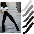New Ladies Women Girls Thigh High Over the Knee Socks Long Cotton Stockings c058