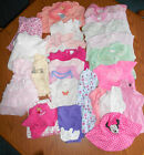 Lot over 25 Items Baby Girl Clothes size 3M  3 6 Months Onesies Pants Tops 1Pc