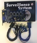 16CH PCI E High Speed DVR Card Security Monitor Win 7 8 10 Smart Phone View