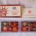 United States Mint Silver Proof Set 2003 with State Quarters